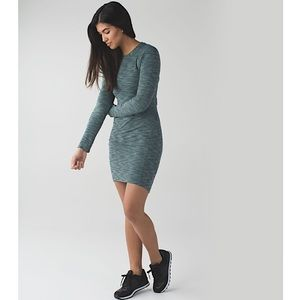 Lululemon '&go Where To' Long Sleeve Dress
